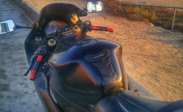 Aftermarket Grips on Honda CBR1000RR